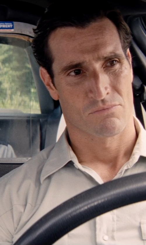 Matthew Del Negro with Department 5 Long Sleeve Button Shirt in Hot Pursuit