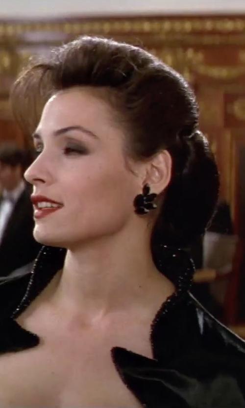 Famke Janssen with Persy Earrings in GoldenEye