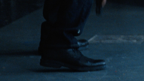 Matt Damon with Caterpillar Brady Mid Boots in Jason Bourne
