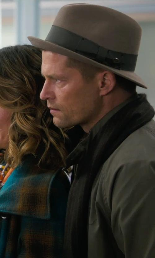 Til Schweiger with Theory	 Marled Knit Scarf in New Year's Eve