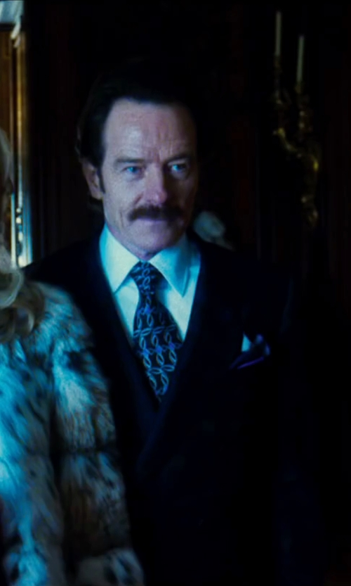 Bryan Cranston with Ann Demeulemeester Lana Two-Button Suit in The Infiltrator