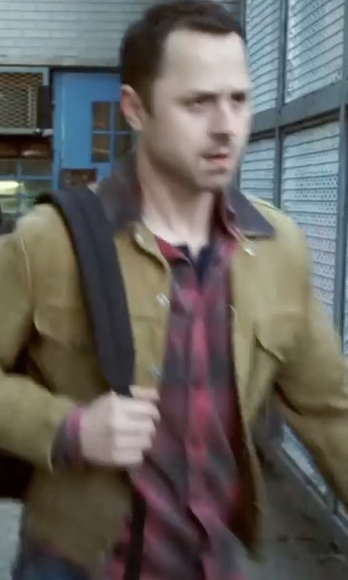 Giovanni Ribisi with Polo Ralph Lauren Button-Down Denim Jacket in Sneaky Pete