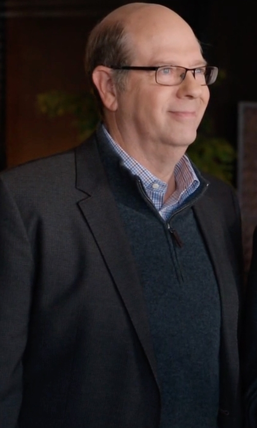 Stephen Tobolowsky with Boss Hugo Boss Basic Two-Button Suit in Silicon Valley