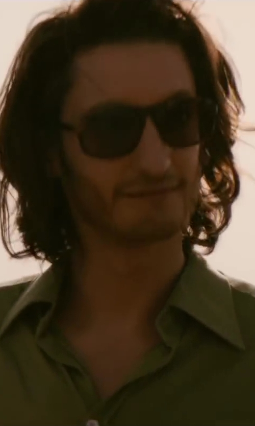 Pierre Niney with Ralph Lauren RL8095B Sunglasses in Yves Saint Laurent