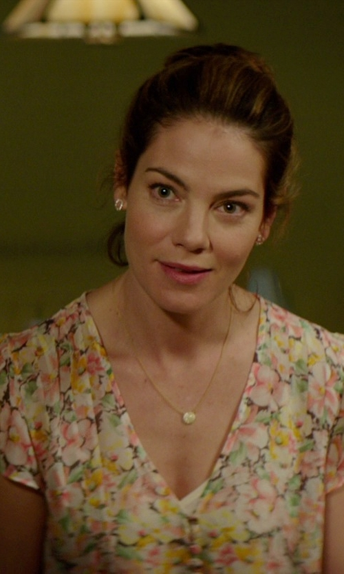 Michelle Monaghan with Joie Macy B Blouse in The Best of Me