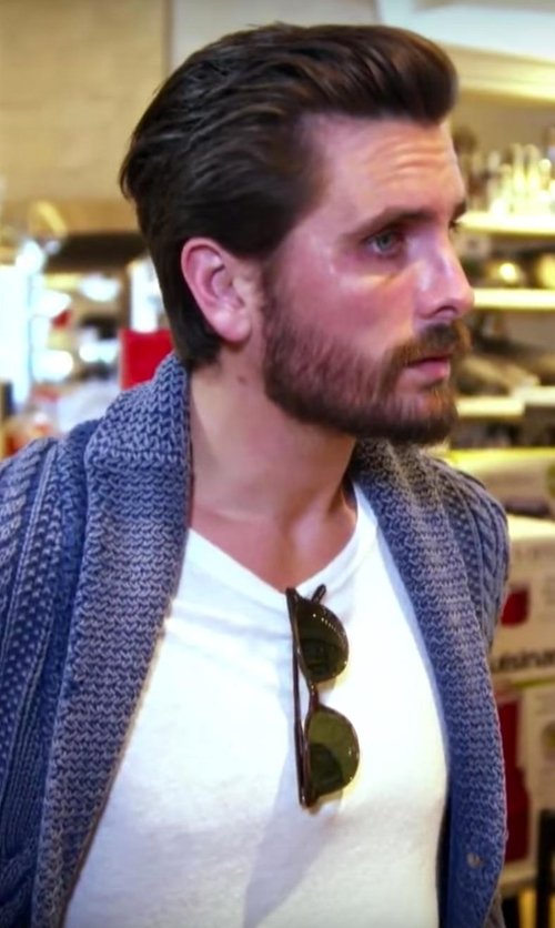 Scott Disick with Garrett Leight Bentley Sun Sunglasses in Keeping Up With The Kardashians