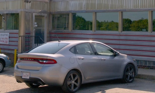 Unknown Actor with Dodge Dart SXT Car in Ted 2