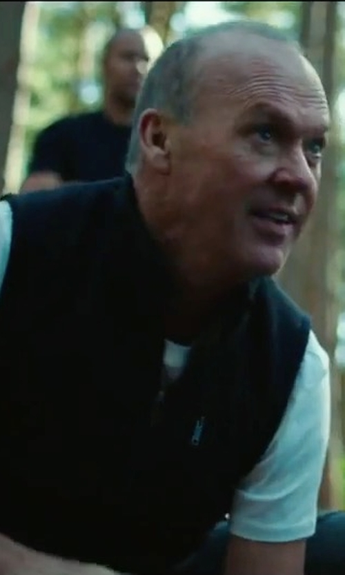 Michael Keaton with AG The Newton Vest in American Assassin