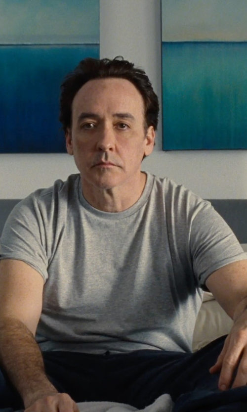 John Cusack with One Kings Lane Novak Upholstered Bed in Love & Mercy