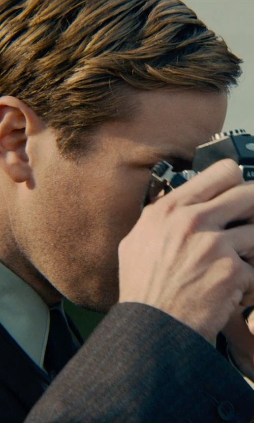 Armie Hammer with Nikon D3300 24.2 MP CMOS DSLR Camera in The Man from U.N.C.L.E.