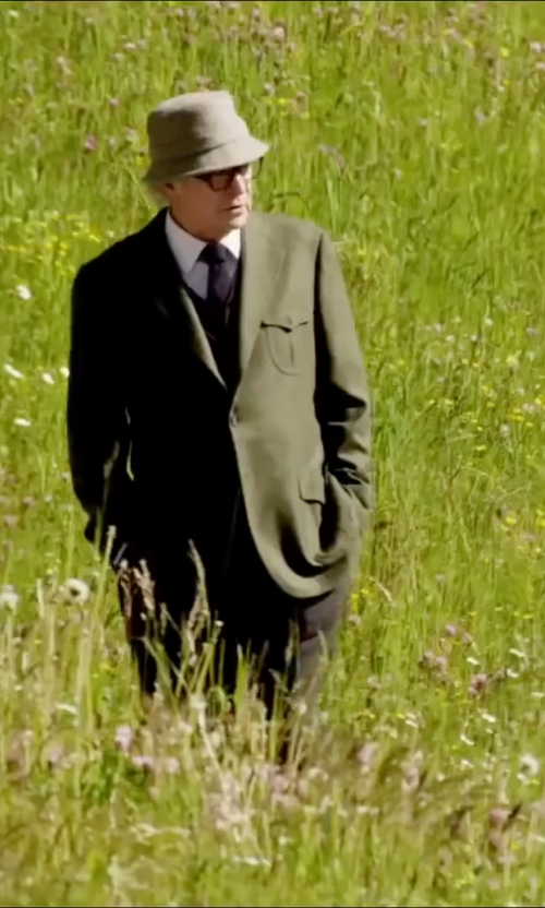 Michael Caine with Burnett Single Chest Pocket Blazer in Youth