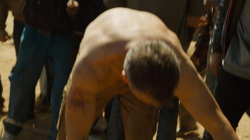 Matt Damon with RJR John Rocha Twill Cargo Trousers in Jason Bourne