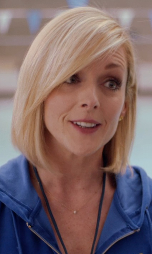 Jane Krakowski with Judith Jack 'Providence' Faux Pearl Pendant Necklace in Adult Beginners