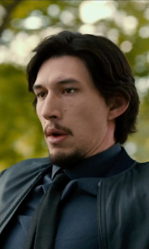 Adam Driver with NEIMAN MARCUS Satin Formal Tie in This Is Where I Leave You