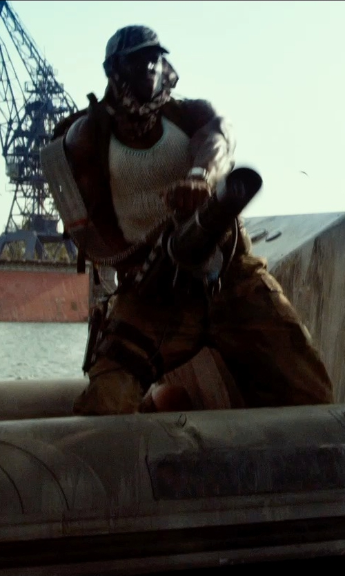 Terry Crews with Polo Ralph Lauren Straight-Fit Cargo Pant in The Expendables 3