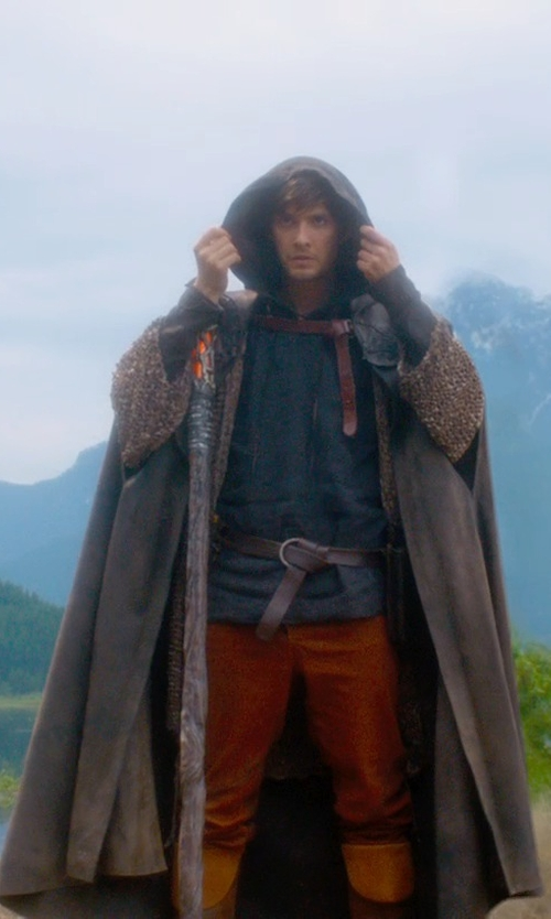 Ben Barnes with Jacqueline West (Costume Designer) Custom Made Medieval Tunic (Tom Ward) in Seventh Son