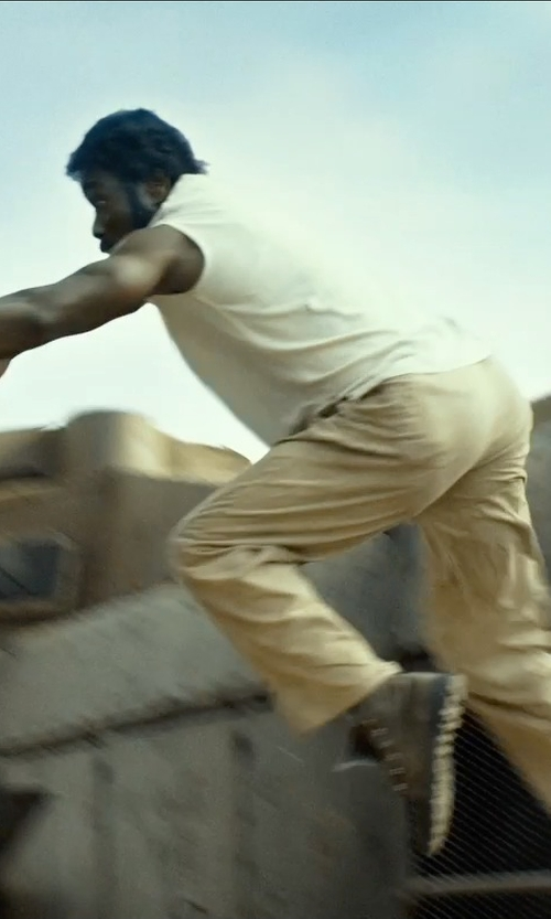 Wesley Snipes with Docker's Men's Off The Clock Khaki Front Pant in The Expendables 3