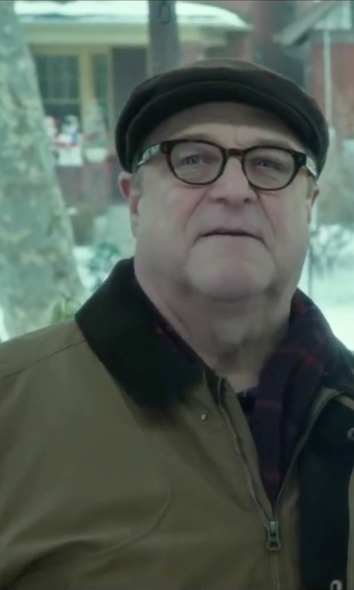 John Goodman with Barbour Gamefair Jacket in Love the Coopers