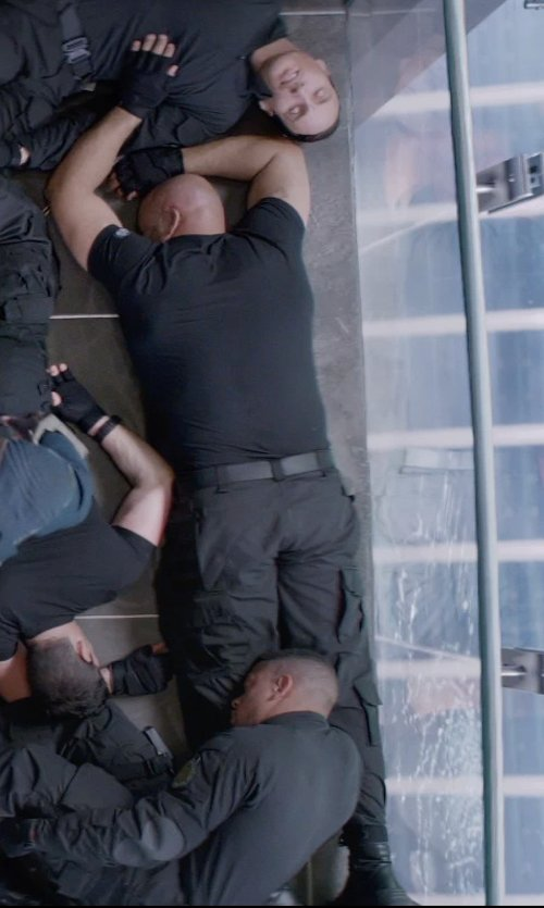 Unknown Actor with B:SCOTT DROP CROTCH CARGO PANT in Captain America: The Winter Soldier