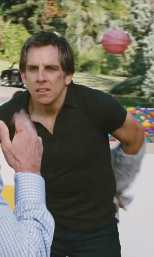 Ben Stiller with Michael Kors Sherpa Full-Zip Hoodie in Little Fockers