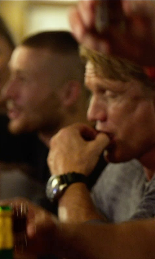 Dolph Lundgren with Panerai Luminor Men's Automatic Watch - PAM00389 in The Expendables 3