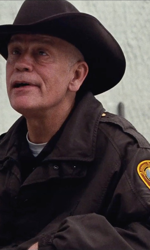 John Malkovich with Tony Lama Chocolate Felt Cowboy Hat in Cut Bank