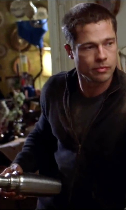 Brad Pitt with Lenox Strainer & Jigger Shaker in Mr. & Mrs. Smith