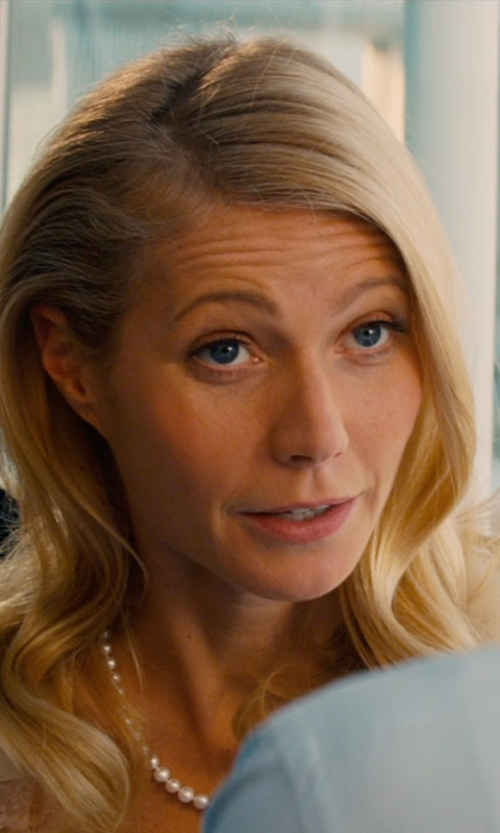 Gwyneth Paltrow with Paul & Joe Sister Women's Blouse in Mortdecai
