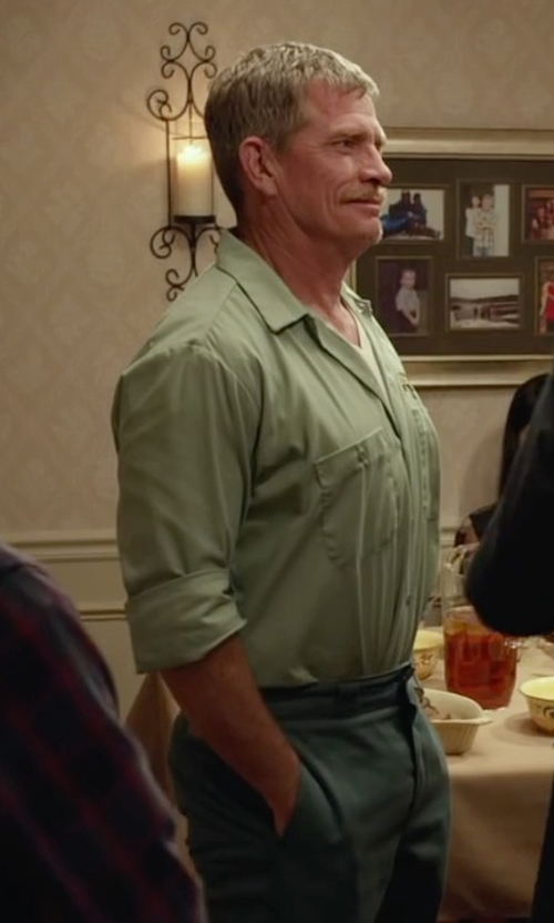 Thomas Haden Church with Cornerstone Men's Industrial Work Shirt in Max