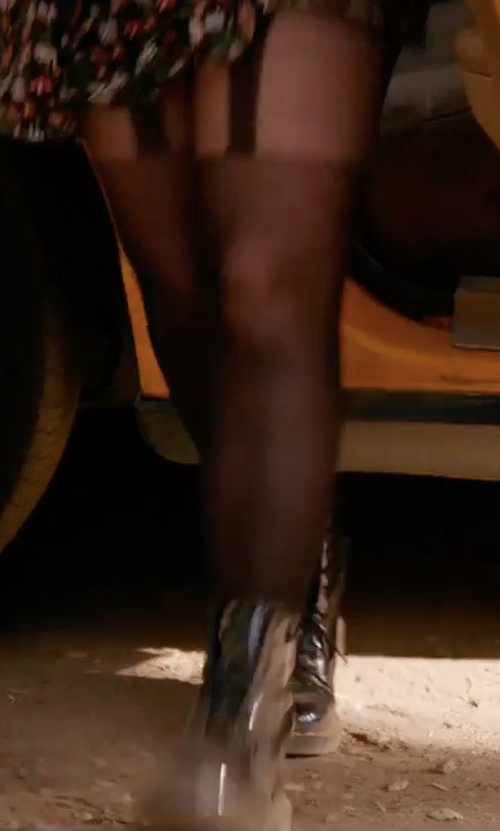 Amy Poehler with Kendall + Kylie Jordana Boots in Wet Hot American Summer: Ten Years Later
