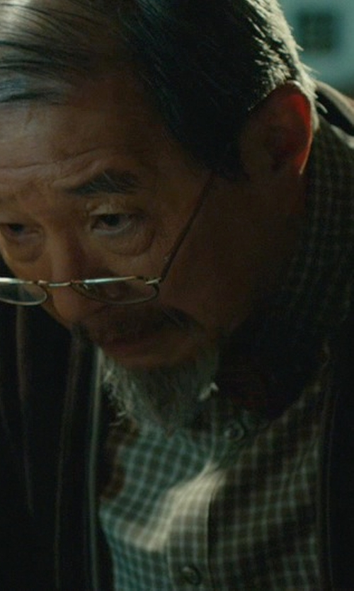 Randall Duk Kim with Burberry BE1239 Eyeglasses in John Wick