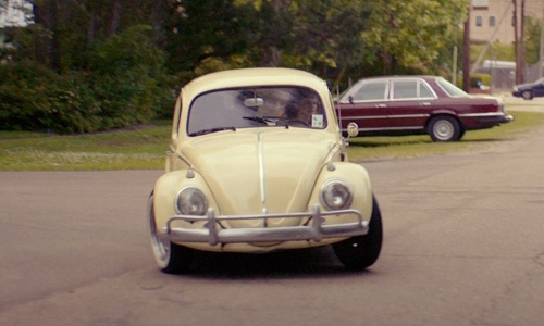 Caroline Hebert with Volkswagen 1966 Beetle Coupe in The Best of Me