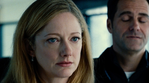 Judy Greer with Lord & Taylor Sterling Silver Freshwater Pearl Drop Earrings in Jurassic World