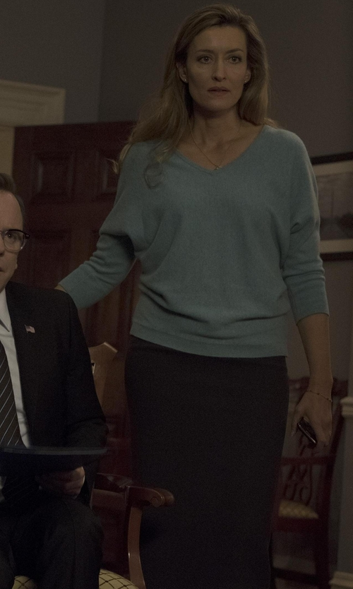 Natascha McElhone with LPA Pencil Skirt in Designated Survivor