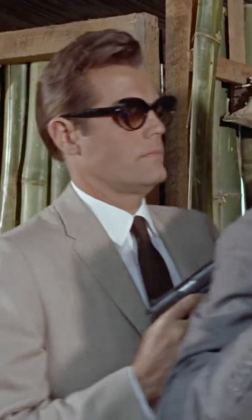 Jack Lord with Marc by Marc Jacobs Retro Sunglasses in Dr. No