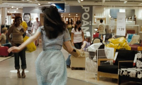 Zooey Deschanel with Ikea Burbank, California in (500) Days of Summer