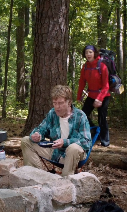 Robert Redford with REI Blue Flex Lite Chair in A Walk in the Woods