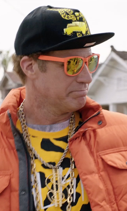 Will Ferrell with Ray-Ban  New Wayfarer Orange Sunglasses in Get Hard