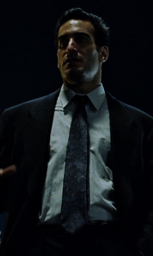 Rob Lanza with Dirk Bikkembergs Silk Tie in Fight Club