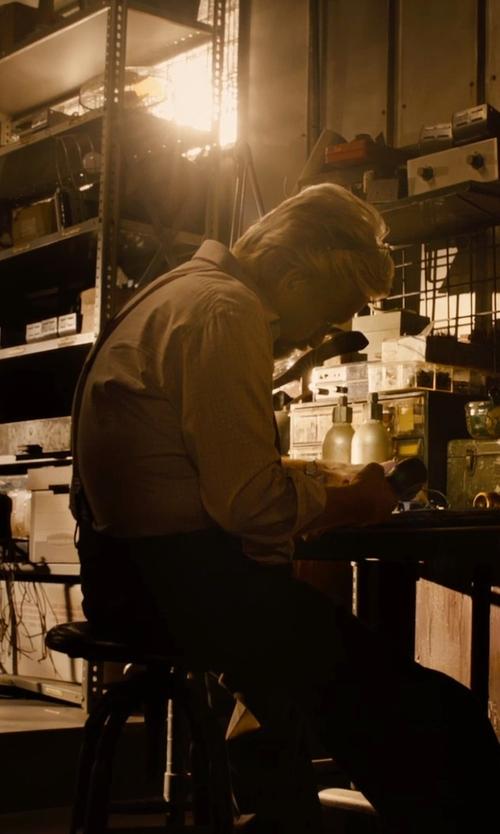 Michael Douglas with Armani Collezioni Check Dress Shirt in Ant-Man