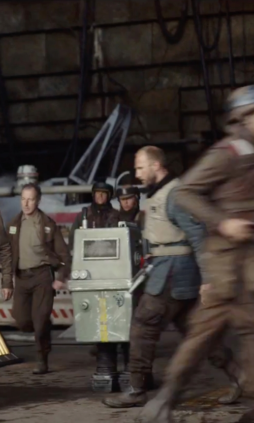 Unknown Actor with Star Wars Miniature Gonk Power Droid  in Rogue One: A Star Wars Story