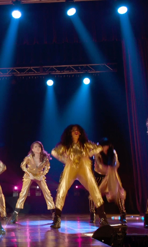 Chrissie Fit with Eastbay Tearaway Pants in Pitch Perfect 2