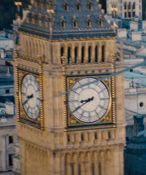 Big Ben London, England in Edge of Tomorrow