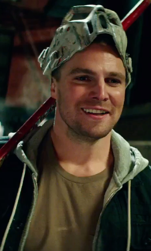 Stephen Amell with Scotch & Soda Home Alone Zip Through in Teenage Mutant Ninja Turtles: Out of the Shadows