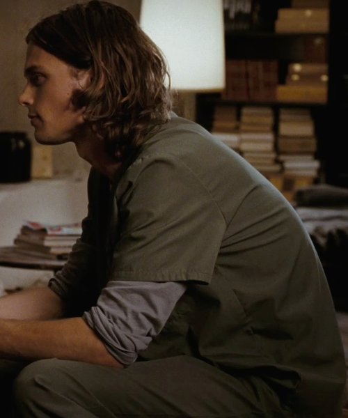 Matthew Gray Gubler with Premier Scrubs Premium Quality Scrub Set in (500) Days of Summer