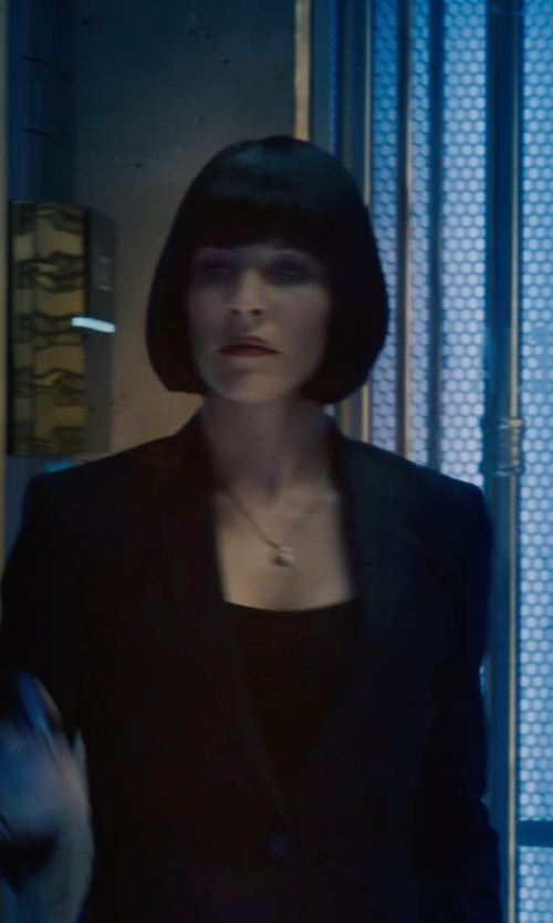 Evangeline Lilly with Melissa Joy Manning Sterling Silver Citrine & Pearl Necklace in Ant-Man