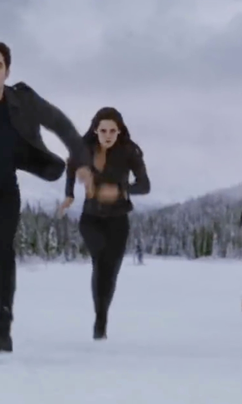 Kristen Stewart with LD Tuttle The Weave Leather Double Layer Combat Boots in The Twilight Saga: Breaking Dawn - Part 2