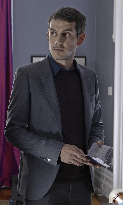 Tate Ellington with Eleventy Two Piece Suit in Quantico