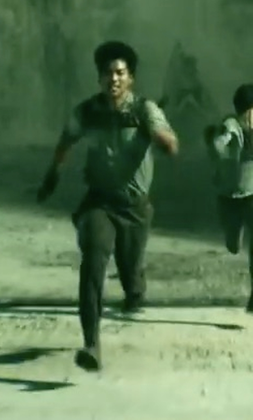 Ki Hong Lee with Palladium Baggy Lace-Up Boots in Maze Runner: The Death Cure