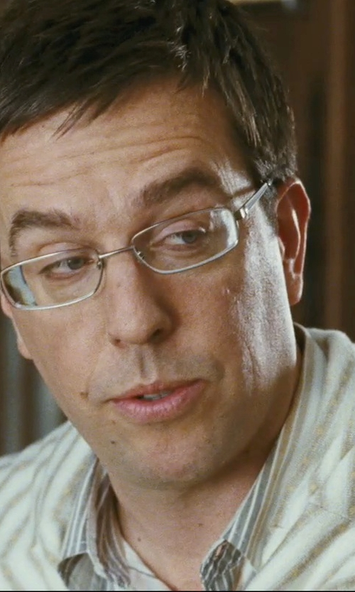 Ed Helms with Zenni Full-Rim Titanium Frame with Designer Temples Glasses in The Hangover